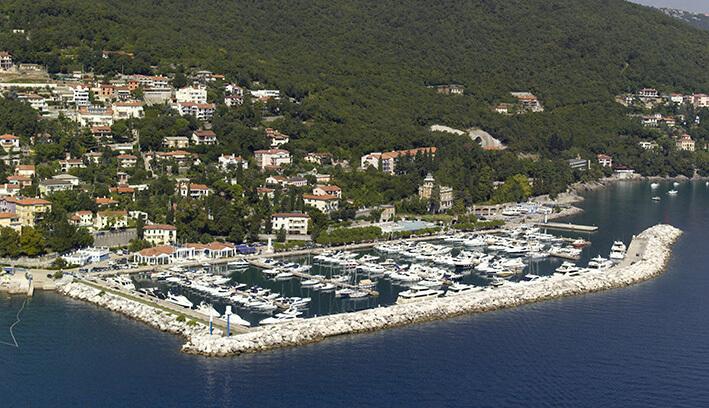 PLAN PLOVIDBE: Sjeverni Jadran – atraktivna ruta za nabrijane jedriličare 1. ACI marina Opatija u Icicima u sigurnom zagrljaju cvrstog lukobrana