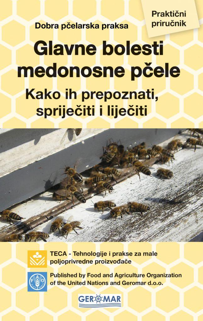 NOVA KNJIGA: Glavne bolesti medonosne pčele: Kako ih prepoznati, spriječiti i liječiti (Praktični pčelarski priručnik) GLAVNE BOLESTI PCELE naslovnica