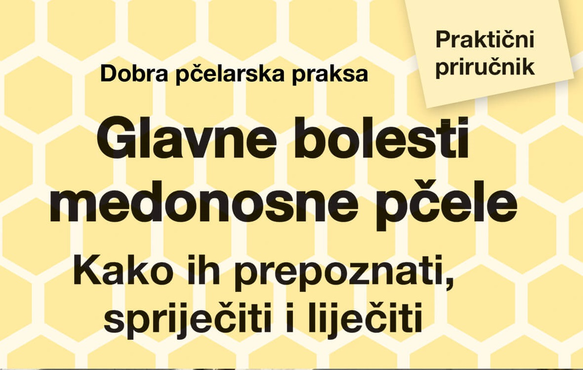 NOVA KNJIGA: Glavne bolesti medonosne pčele: Kako ih prepoznati, spriječiti i liječiti (Praktični pčelarski priručnik) Glavne bolesti pcele istaknuta
