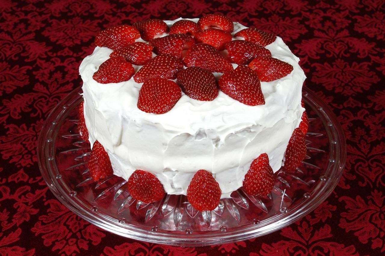 Jagode torta