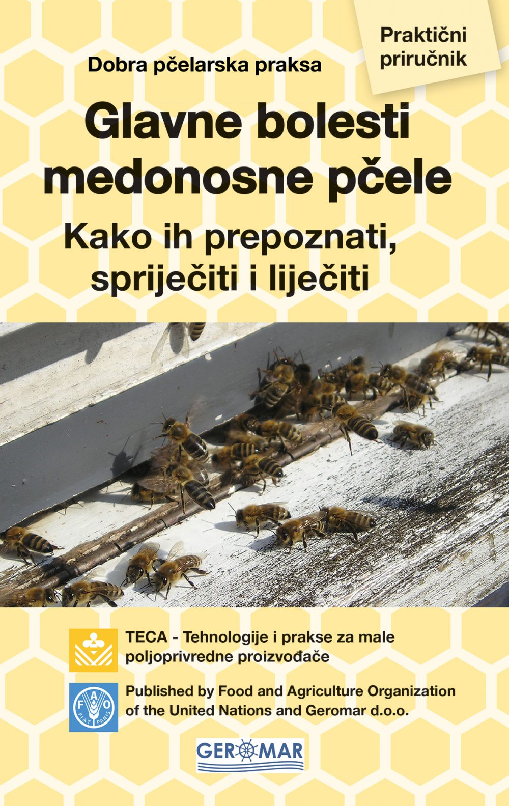 Glavne bolesti medonosne pčele, FAO UN agencjia za hranuknjiga