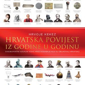 Knjiga Hrvatska povijest iz godine u godinu (Hrvoje Kekez)