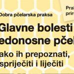 NOVA KNJIGA: Glavne bolesti medonosne pčele: Kako ih prepoznati, spriječiti i liječiti (Praktični pčelarski priručnik)
