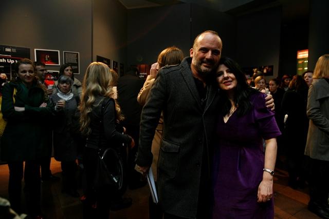 """Na promociji knjige """"Srodne duše"""" Iris Tarbuk u Gavelli Iris i Tony web"""
