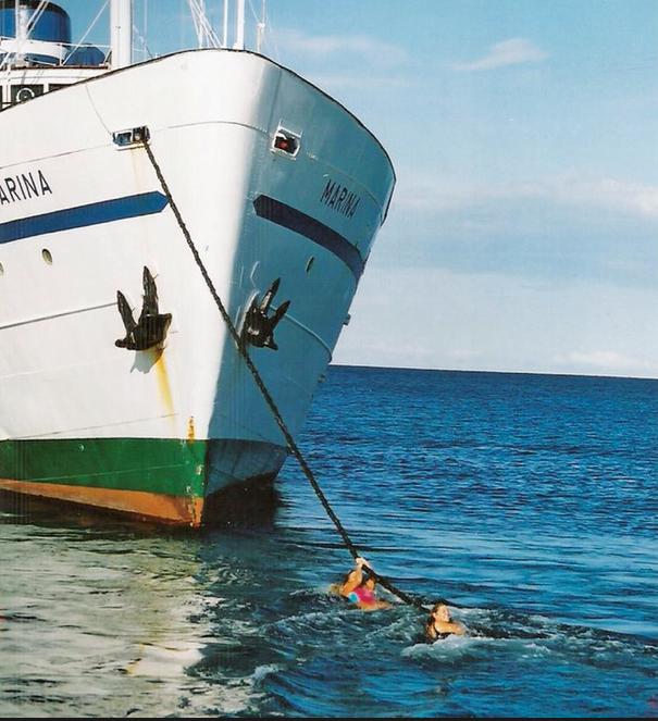 Čudesan život trajekta Marina Marina na otocima