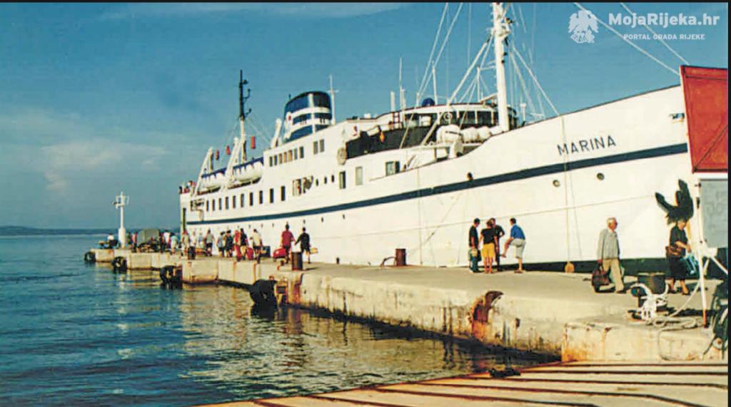 Čudesan život trajekta Marina Marina pristajanje na Silbi