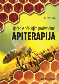 Naslovnica knjige Apiterapija dr. Peter Kapš