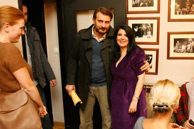 "Na promociji knjige ""Srodne duše"" Iris Tarbuk u Gavelli iris i franjo maskovic web"